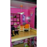 kidkraft uptown wooden dollhouse with 35 pieces of