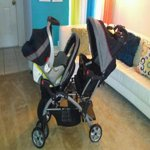 Baby Trend Sit N Stand Plus Double Stroller Millennium