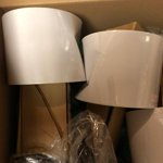 Mainstays White Grab And Go Stick Lamp With Usb Port