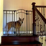 Home Safe Extra Tall Walk Through Decorative Baby Gate 28