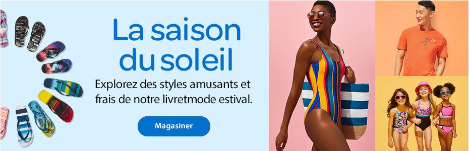 La saison du soleil – Explorez des styles amusants et frais de notre livretmode estival – Magasiner
