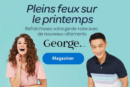 Pleins feux sur le printemps - Rafraîchissez votre garde-robe avec de nouveaux vêtements George. - Magasiner