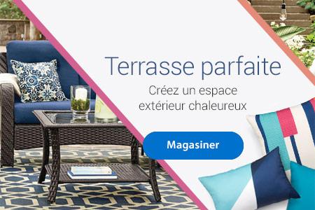 Terrasse parfaite - Créez un espace extérieur chaleureux - Magasiner