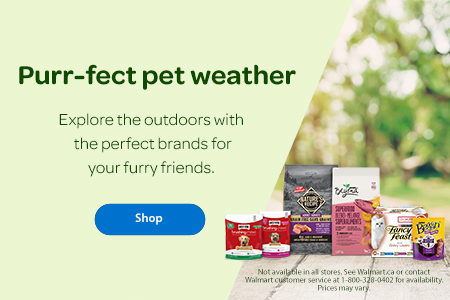 Purr-fect pet weather - Explore the outdoors with the perfect brands for your furry friends. - Shop