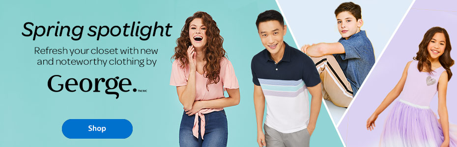 Spring spotlight - Refresh your closet with new and noteworthy clothing by George. - Shop