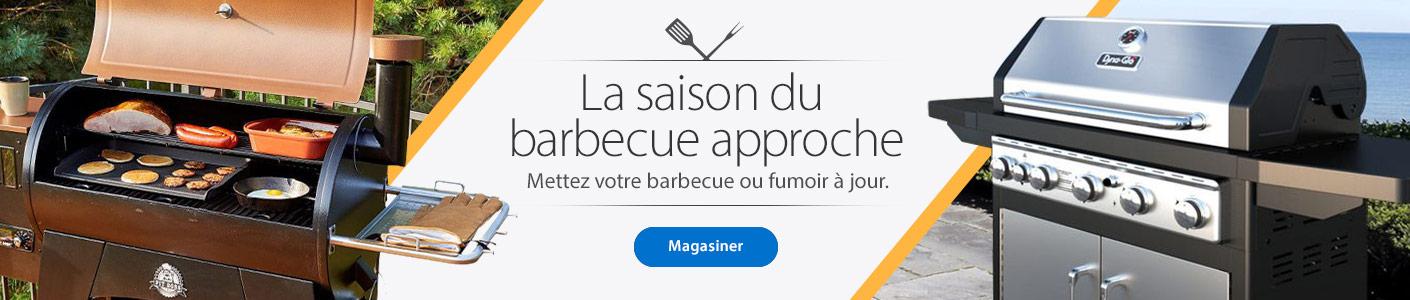La saison du barbecue approche - Mettez votre barbecue ou fumoir à jour. - Magasiner