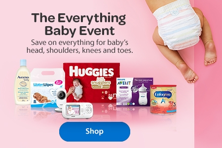 f0e824b06b The Everything Baby Event – Save on everything for baby's head, shoulders,  knees,