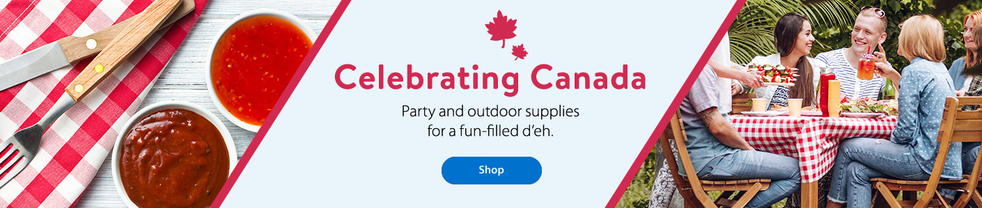 Celebrating Canada - Party and outdoor supplies for a fun-filled d'eh. - Shop
