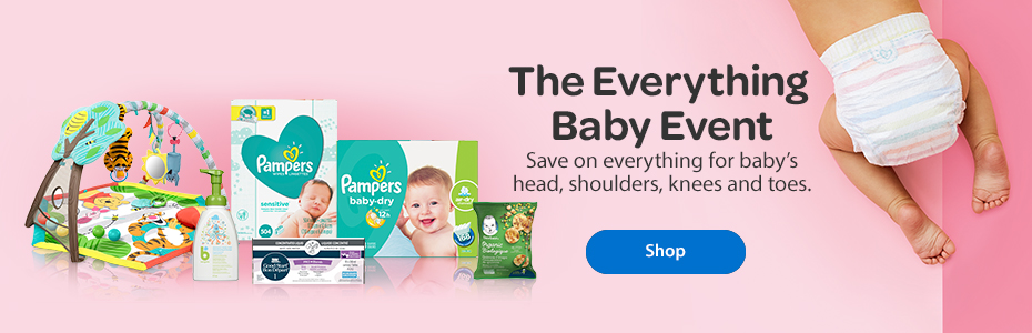 The Everything Baby Event – Save on everything for baby's head, shoulders, knees, and toes. – Shop
